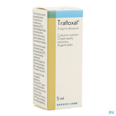TRAFLOXAL COLLYRE 5 ML 3MG/ML