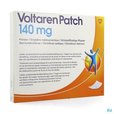 VOLTAREN PATCH 140MG PLEISTER 5