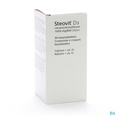 STEOVIT FORTE 1000MG/800 IE TABLCONT 90
