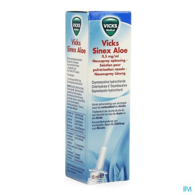 VICKS SINEX ALOE NEB. FL. 15 ML