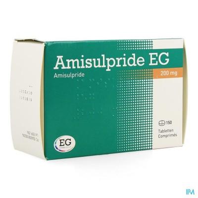 AMISULPRIDE EG 200 MG TABL 150