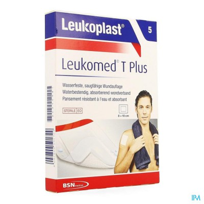 LEUKOMED T PLUS 8CMX10CM 5 LEUKOPLAST