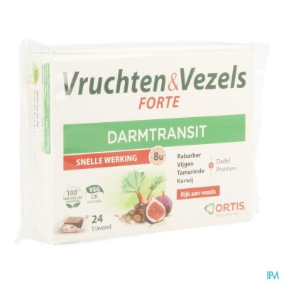 ORTIS VRUCHTEN & VEZELS FORTE BLOKJE 24