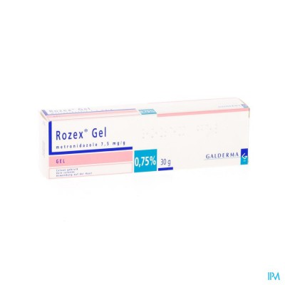 ROZEX GEL TUBE 30 GR 0,75 %