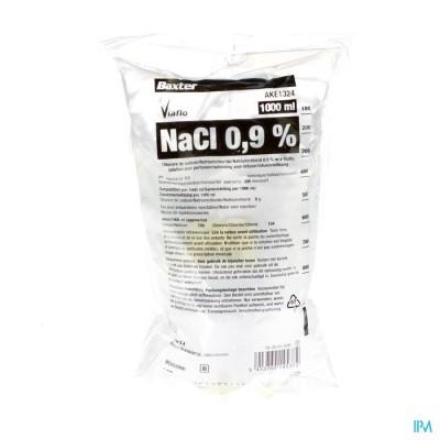 BX NACL 0,9% VIAFLO SAC-ZAK 1000ML