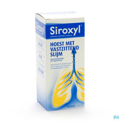 SIROXYL SIR 1 X 250 ML 250MG/5ML