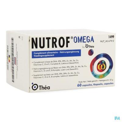 NUTROF OMEGA VOEDINGSUPPL.OGEN CAPS 60