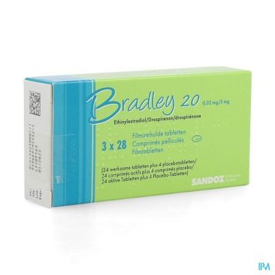 BRADLEY 20 COMP 3 X 28