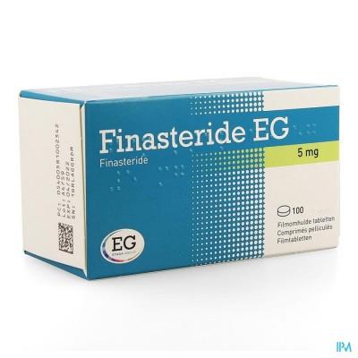 FINASTERIDE EG COMP 100 X 5 MG