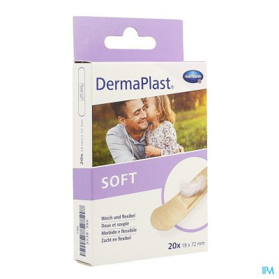 DERMAPLAST SOFT 19X72MM 20