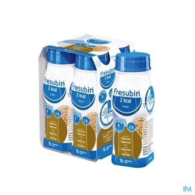 FRESUBIN 2KCAL DRINK CAPPUCCINO EASYBOTTLE 4X200ML