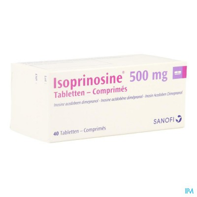ISOPRINOSINE COMP 40 X 500 MG