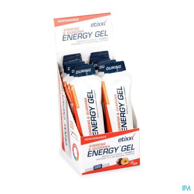 ETIXX MARACUJA GINSENG&G ENERGY GEL 12X50G