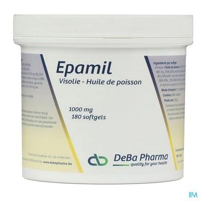 EPAMIL CAPS 180X1000MG DEBA