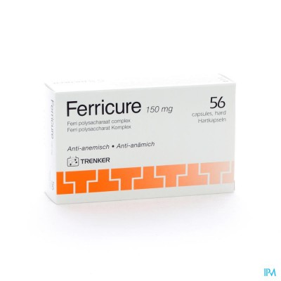 FERRICURE CAPS 56