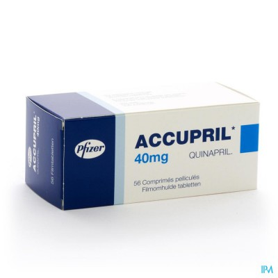 ACCUPRIL COMP 56 X 40 MG
