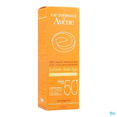 AVENE ZONNECREME IP50+ A/AGE 50ML