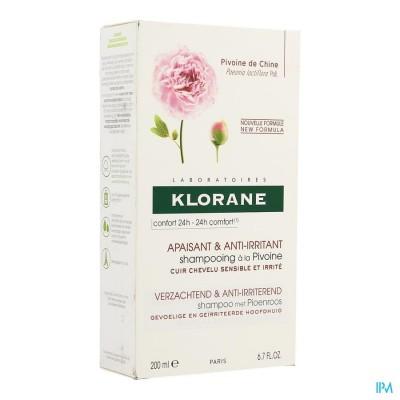 KLORANE CAPIL. SH PIOEN 200ML