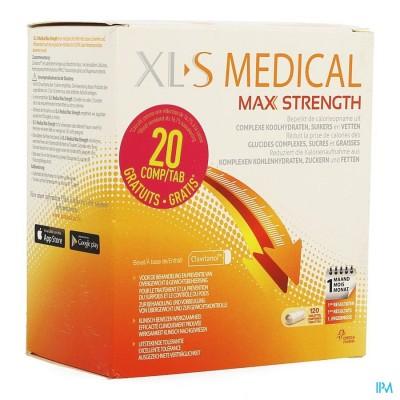 XLS MED. MAXIMUM STRENGTH COMP 100 + COMP 20 GRAT.