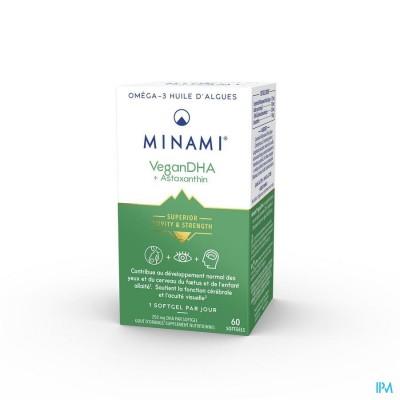 MINAMI VEGAN DHA NF POT V-CAPS 60