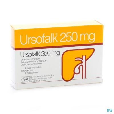 URSOFALK CAPS 100 X 250 MG