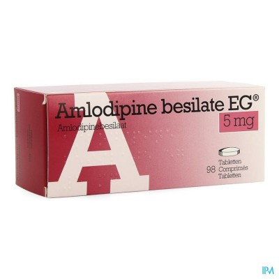 AMLODIPINE BESILATE EG COMP 98 X 5 MG