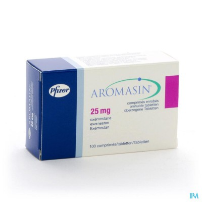 AROMASIN 25MG COMP 100