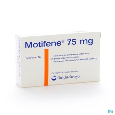 MOTIFENE CAPS 28 X 75 MG
