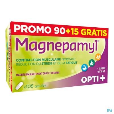 MAGNEPAMYL OPTI+ CAPS 90+15 GRATIS