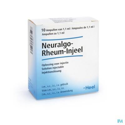NEURALGO RHEUM INJEEL AMP 10X1,1ML HEEL