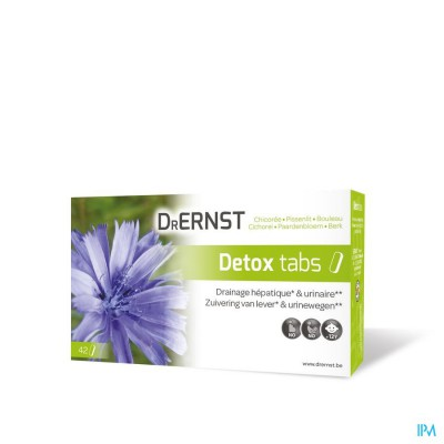 DR ERNST DETOX TABS COMP 42