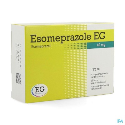 ESOMEPRAZOLE EG 40MG HARDE CAPS MAAGSAPRES 28X40MG
