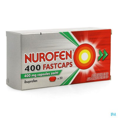 NUROFEN 400 FASTCAPS CAPS 20 X 400 MG
