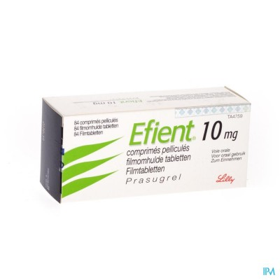 EFIENT COMP PELL 84 X 10 MG