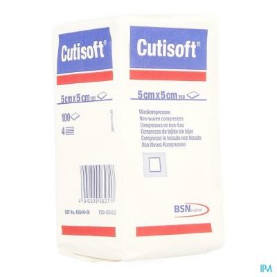 CUTISOFT N/ST NON WOVEN 4PL 5,0X 5,0CM 100