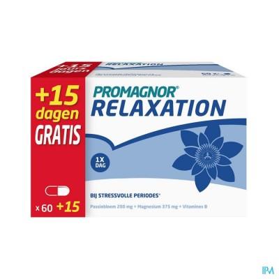PROMAGNOR RELAXATION CAPS 60+15 GRATIS PROMO