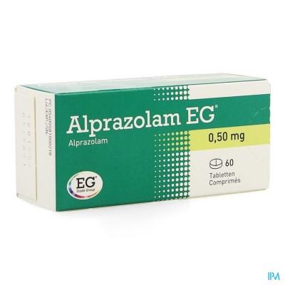 ALPRAZOLAM EG COMP 60 X 0,50MG