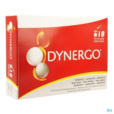DYNERGO DRINKBARE AMP 18X10ML