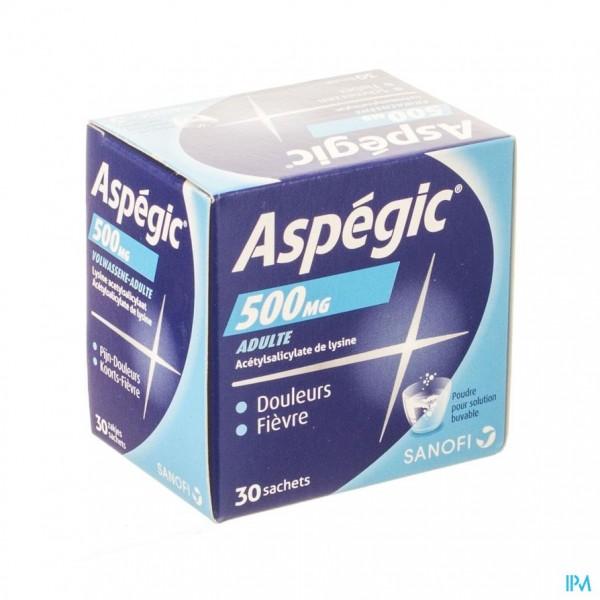 ASPEGIC 500 PULV 30X 500MG