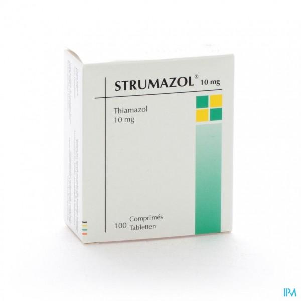 STRUMAZOL COMP 100 X 10 MG