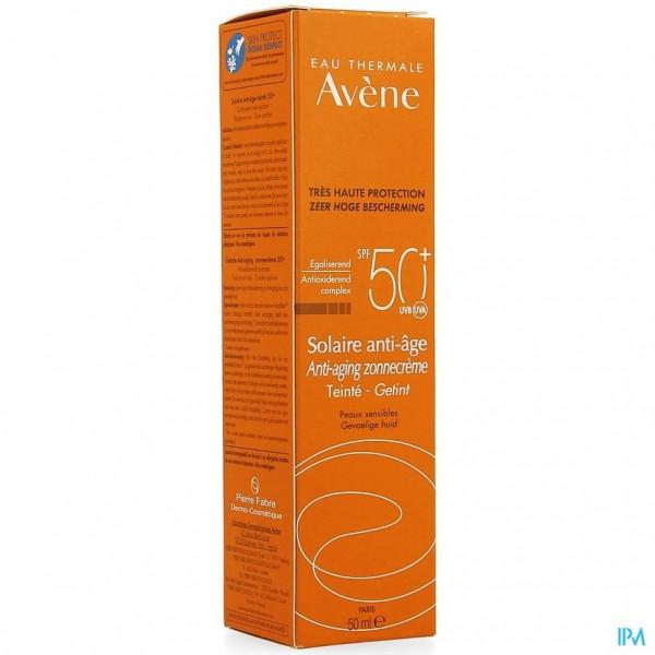 AVENE ZONIP50+ CREME A/AGE GETINT 50ML