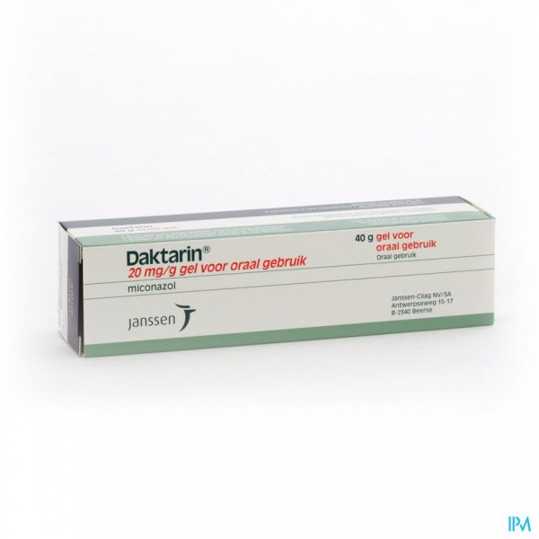 Daktarin Gel Per Os 1 X 40g 20mg G Apotheek Thiels