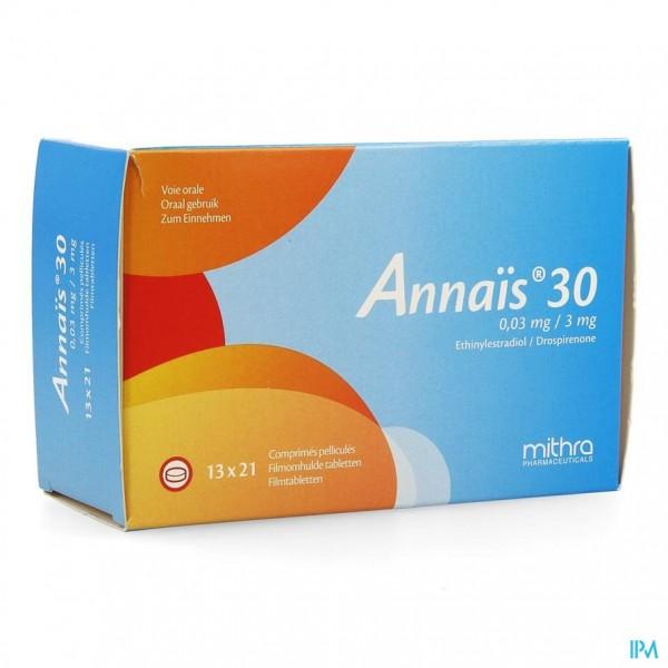 ANNAIS 30 0,03MG/3MG FILMOMH TABL 13 X 21