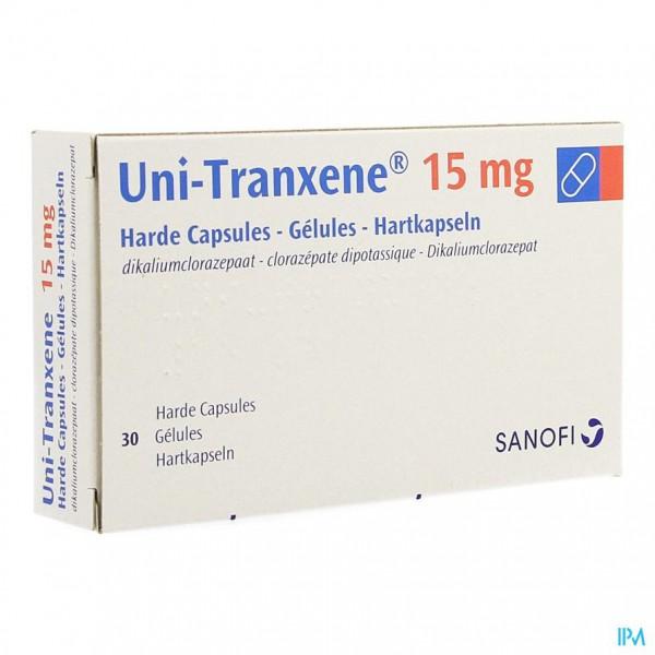 UNITRANXENE CAPS. 30X15MG