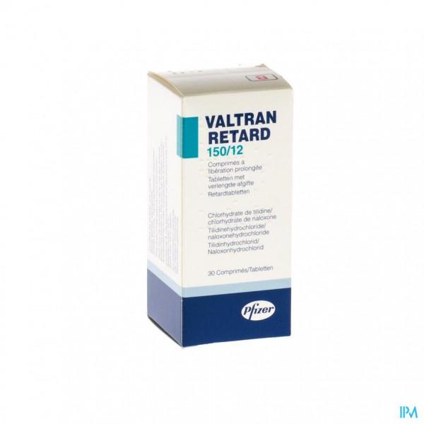 VALTRAN RETARD COMP 30 X 150/12MG