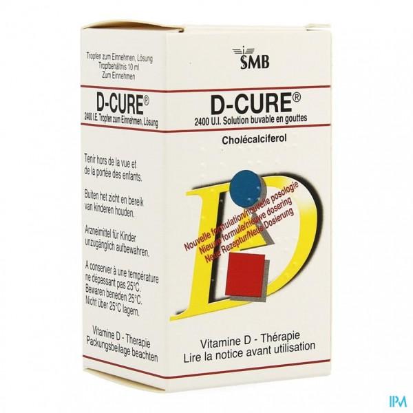 D CURE SOL. 10 ML
