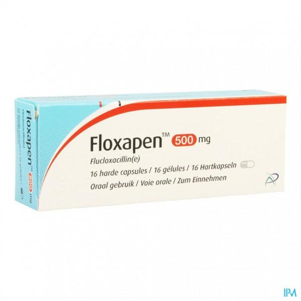 FLOXAPEN CAPS 16 X 500MG