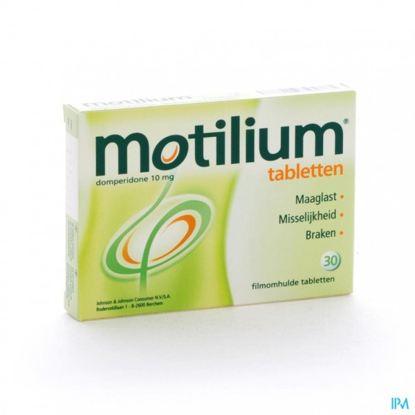 MOTILIUM COMP 30 X 10 MG