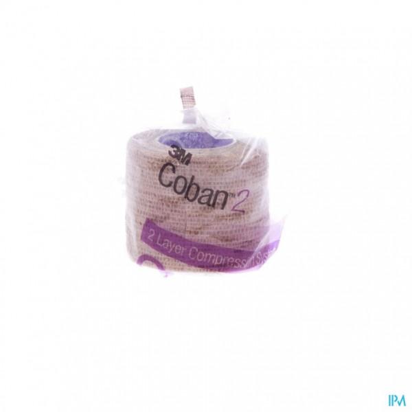COBAN 2 3M COMPRESSIEZWACHTEL 5,0CMX2,70M 1 20022