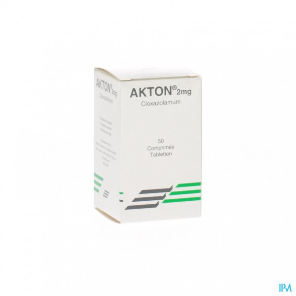 AKTON COMP 50 X 2 MG